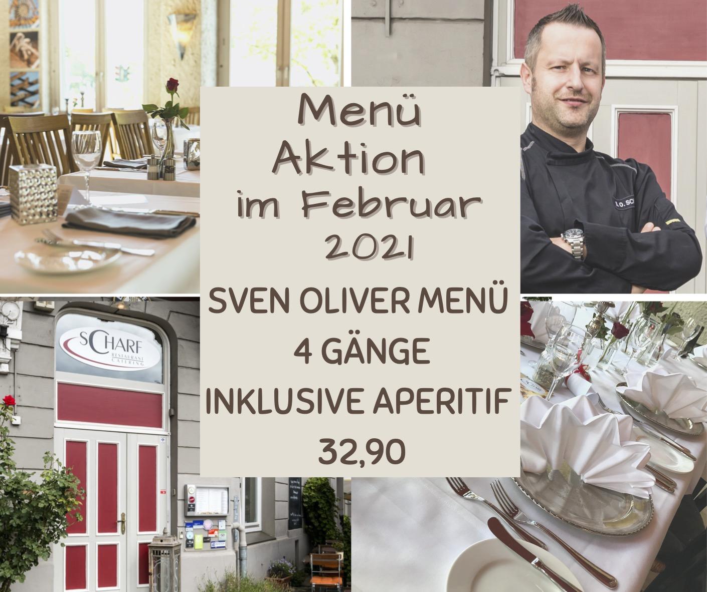 Sven Oliver Menü